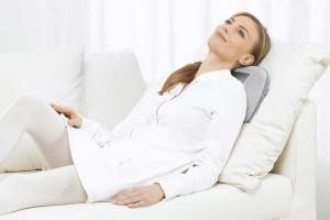 Cojín masajeador eléctrico para usar en distintas zonas del cuerpo: comprar aparatos de masajes