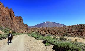 Vista del Teide desde el sendero de las Siete Cañadas - Imagen de Jose Miguel