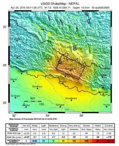 Ayuda a las zonas afectadas de Nepal