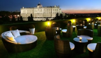 hotel Jardines de Sabatini familiar