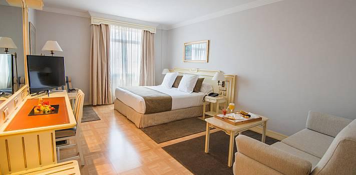 VP Jardín Metropolitano hotel con encanto romántico y económico en Madrid