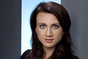 La escritora Camilla Läckberg