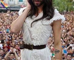 Conchita Wurst Opening Speech at Gay Pride 2014 in Madrid