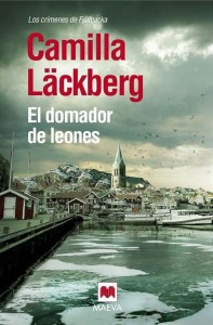"Portada de ""El domador de leones"", reseña de la novela de Camilla Läckberg."