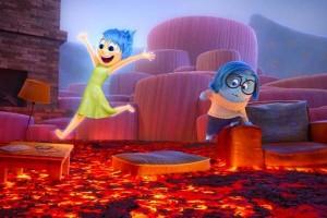 """Escena del último filme de Pixar """"Inside Out (Del revés)"""""""