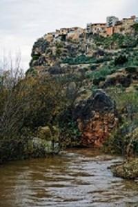 Liétor sobre el río Mundo. Fotos cedidas por la Diputación Albacete