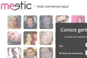La web Meetic