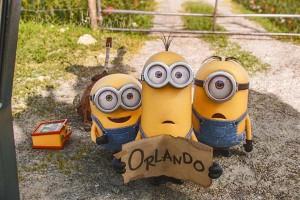 """Imagen de """"Los minions"""" en un fotograma de la película de 2015"""