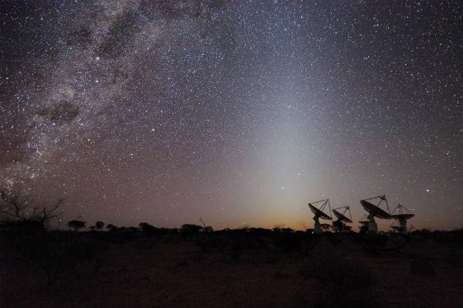 Captan señal cósmica de hace 5 mil millones de años
