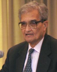 Amartya Sen, crítico del capitalismo.