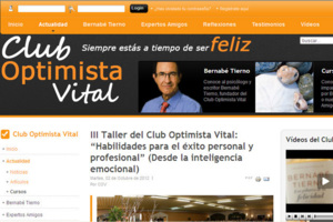 Bernabé Tierno. Club optimista vital.