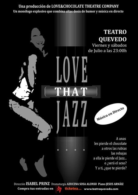 Love that jazz: humor, erotismo, música y … lo que surja