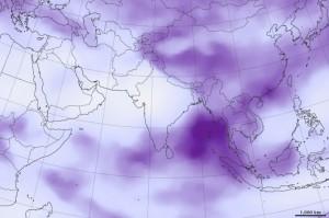 India, una de las olas de calor de 2015