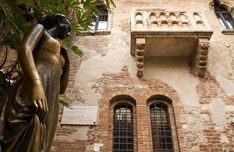 Románticos por el mundo, de Verona a París