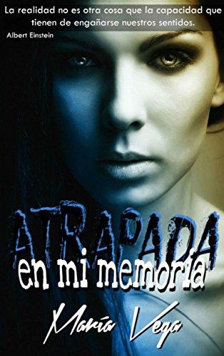 """Detalle del libro """"Atrapada en mi memoria"""" de la terapeuta María Vega."""