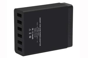 Ofertas de cargadores con 6 puertos usb: cargador USB Choetech 50W para móviles