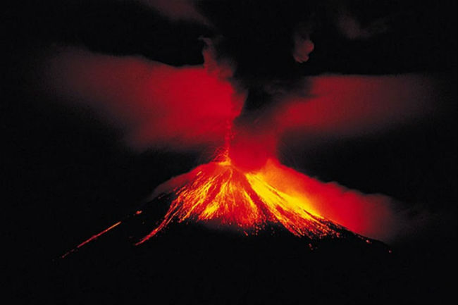 ¿El Imperio Romano fue destruido por grandes volcanes?
