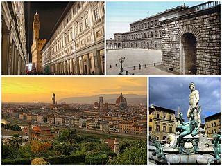 Vacaciones en la ciudad de Florencia, en Italia