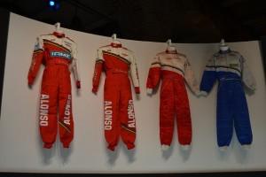 Trajes de los pilotos de Fórmula 1