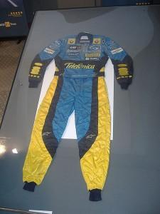 Gran evolución en los trajes de los pilotos de la F1