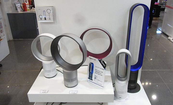 Ventilador sin aspas: Futurista, silencioso y eficiente
