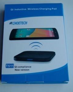 Cargadores inalámbricos de smartphones Choetech choe Qi almohadilla