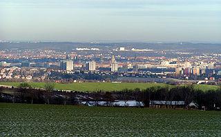 La ciudad alemana de Dresde