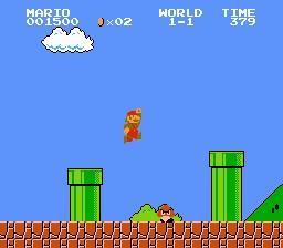Nivel 1 Mario Bros