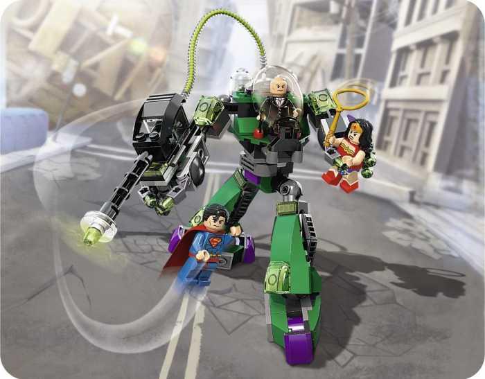 Lego Superman, los juguetes Lego del hombre de acero