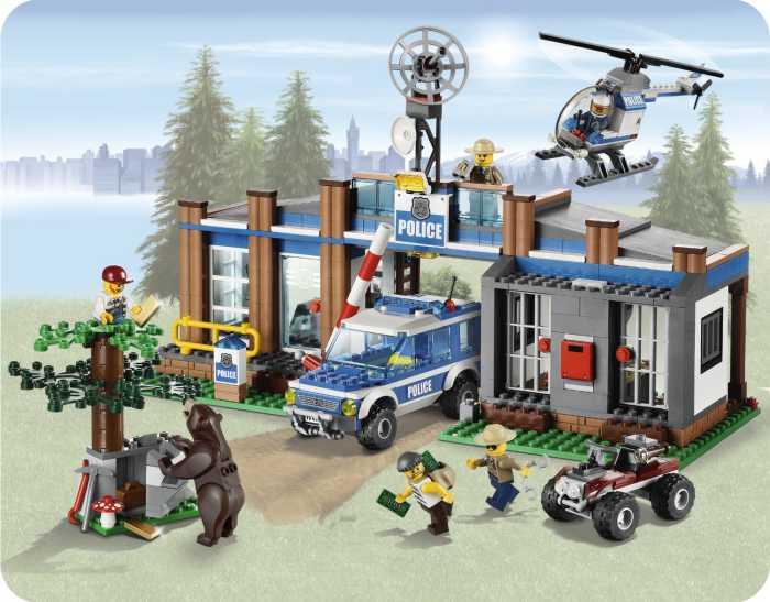 Lego Policía: descubre los mejores juguetes Lego City Policía