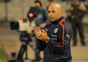 Jorge_Sampaoli entrenando a la selección de Chile