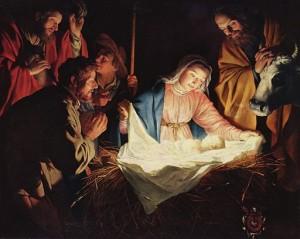 El verdadero significado de Navidad, el nacimiento de Jesús.