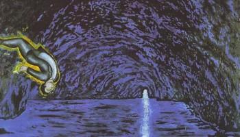 La gruta azul- Sandro Chia