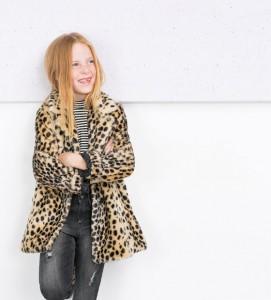 Zara abrigo Leopardo