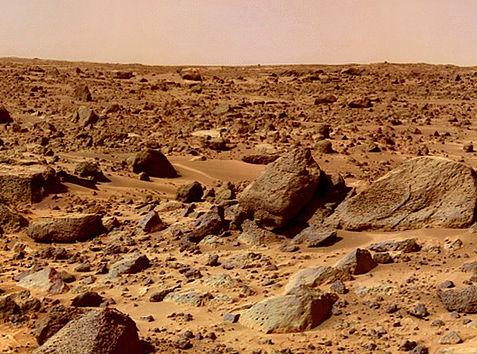Posibilidades de hallar vida en Marte