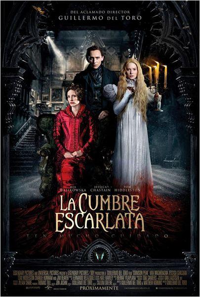 """Crítica de """"La Cumbre Escarlata"""", de Guillermo del Toro"""