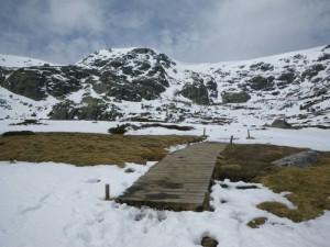 Sendero puente madera Peñalara