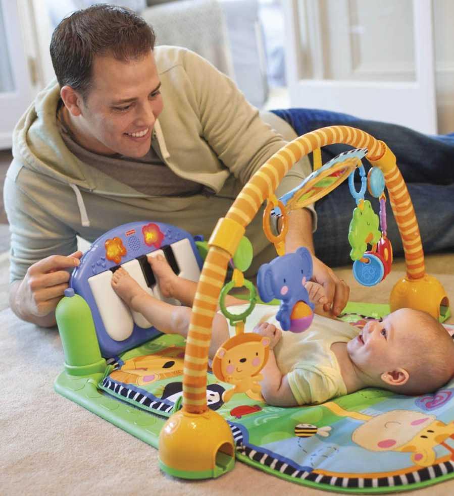 Los 4 mejores gimnasios para bebés de Fisher Price