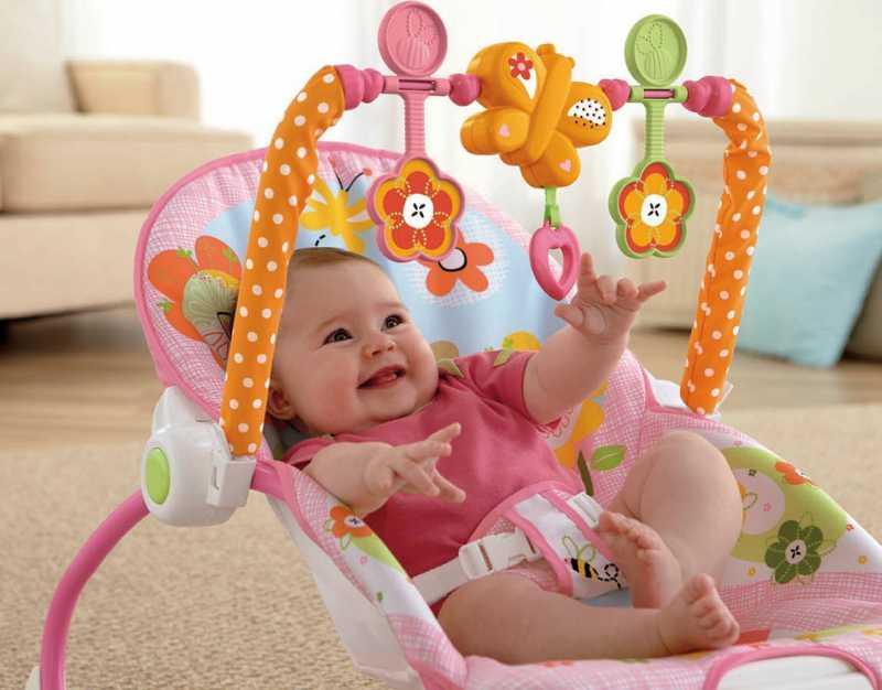 Hamaca fisher price un excelente regalo para beb s for Silla bebe 6 meses