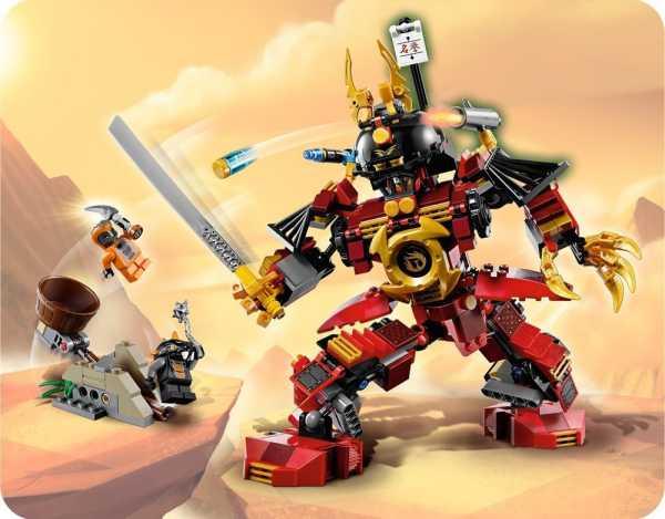 Lego Ninjago: un gran regalo de Navidad para niños