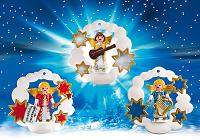 Adornos arbol Navidad Angel Playmobil