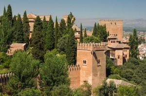 Vistas de la Alhambra de Granada, escapadas baratas