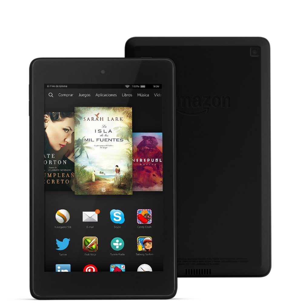 Nueva gama Kindle Fire de tablets baratas