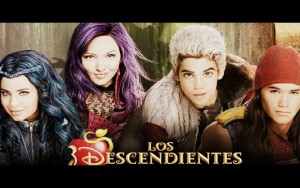 Los Descendientes se estrenó en Octubre en Disney Channel España.
