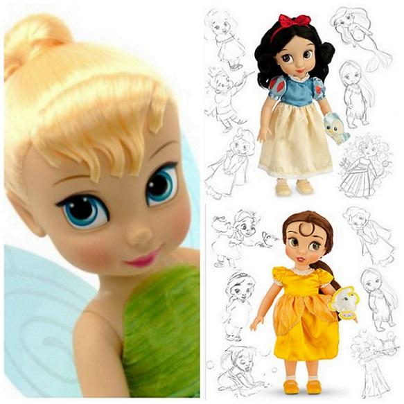 Muñecas Disney Animators: muñecas llenas de magia