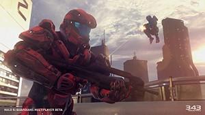 Halo 5 Guardian escena