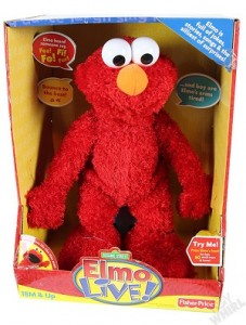 Muñeco Elmo de Barrio Sésamo de la marca Fisher Price