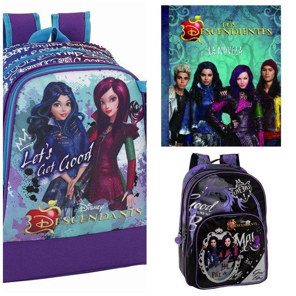 Mochilas Descendientes Disney, ¿cuál te gusta más?