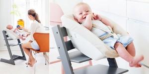 Trona con set para recién nacido