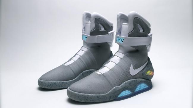 Las zapatillas conmemorativas de 'Regreso al futuro'